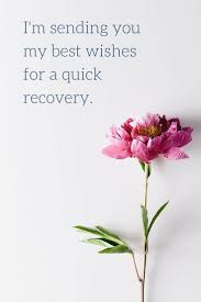 get well quotes recovery