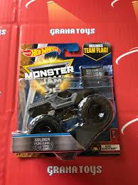 hotwheels monster jam trucks soldier fortune black ops epic 9 10 2017 wheels monster jam