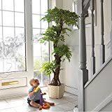 amazon com indoor artificial trees artificial plants home