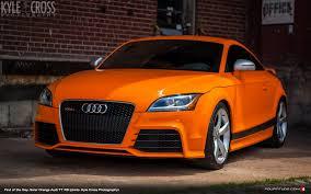 audi tt colors find of the day audi exclusive solar orange tt rs on craigslist