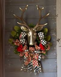 stag wreath planning to recreate this mackenzie