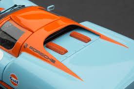 vintage orange porsche exoto gulf porsche 910 vintage racing scale 1 18 mtb 00064 a ebay