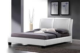 Headboard King Bed Marsha Scalloped Black Modern Bed With Upholstered Headboard