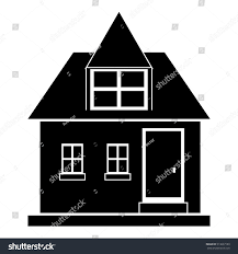modern house icon simple illustration house stock vector 513637180