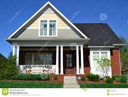 brick cape cod home stock photo image of family estate 24323732