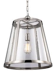 Murray Feiss Island Lighting P1289pn 1 Light Pendant Polished Nickel