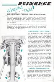 1955 evinrude 15hp outboard motor u0027fastwin u0027 owners manual by