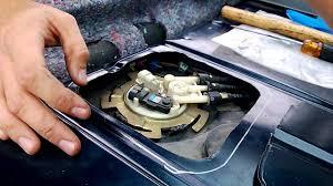 98 Buick Lesabre Fuel Pump Wiring Diagram Cutting Fuel Pump Access Panel And Removing Fuel Pump Assembly
