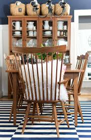 Shaker Dining Room Chairs by Shaker Dining Room Navy U0026 Pink For Spring It All Started With Paint