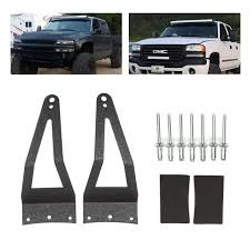 f250 led light bar liplasting 52 led light bar roof mounting brackets for 1999 2015