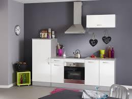 vente unique cuisine pack cuisine 3 meubles leony blanc brillant prix promo vente