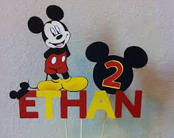mickey mouse center pieces mickey centerpieces etsy
