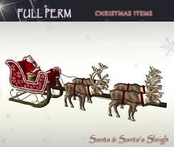 second marketplace perm santa s sleigh set santa