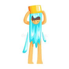 refroidir chambre de culture homme tournant un seau de l eau sur sa tête pour refroidir une