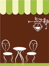 coffee shop background design two chairs and table in a coffee shop background check all