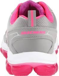 skechers sport women u0027s skech air cross trainer sneaker grey