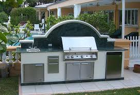 outdoor kitchen backsplash outdoor bbq kitchen with granite backsplash florida outdoor kitchens