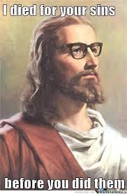 Thank Jesus Meme - thanks hipster jesus by josephmcelrath meme center
