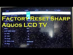 unique reset sharp aquos tv 77 with additional free cover letter