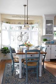 rustic cottage kitchen table attractive cottage style kitchen