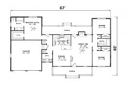 house plans one level one level country house plan admirable bedroom ranch floor plans