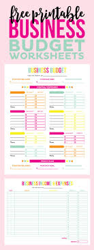 Business Expense Template For Taxes by Tax A Less So With These Free Printable Business