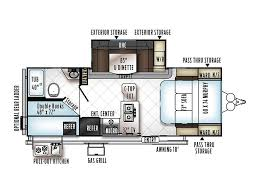 rockwood trailers floor plans 2018 forest river rockwood 2509s banning ca rvtrader com