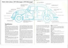 thesamba com vw archives 1969 vw beetle brochure canada