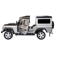 land rover electric rover defender 12v electric licensed ride on kids car with remote