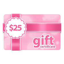 online gift certificates 25 gift certificate online gift card outerbeauty cosmetics