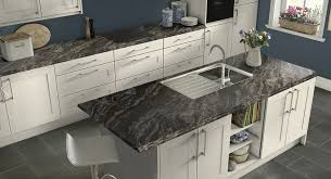 Atlanta Kitchen And Bath by Black Gray Quartz Counter Grey Countertops Transitional Atlanta