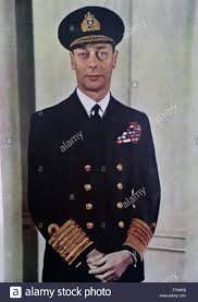 colour photograph of his majesty king george vi 1895 1952 king