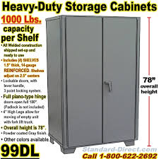 heavy duty steel storage cabinets storage cabinets 99dl