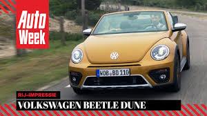 2016 volkswagen beetle dune review volkswagen beetle dune cabriolet autoweek review youtube