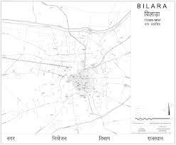 Jaipur India Map by Bilara City Town Map Pdf Download Master Plans India