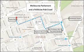 melbourne parliament tour and a politician pub crawl