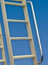 Wood Bunk Bed Ladder Only Shelf Library Bunk Bed Ladders