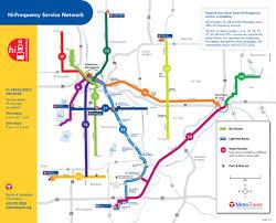 Map Of Minneapolis Minneapolis Light Rail Transit Lrt Maplets