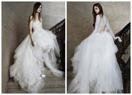 designer wedding dresses vera wang 2015 designer wedding dresses my design week