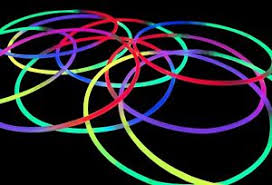glow necklaces 100x 22 tri colour glow necklaces glow sticks connectors multi