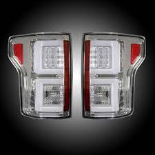 2010 ford f150 tail light cover recon clear led tail lights 2015 2017 ford f150 264268cl