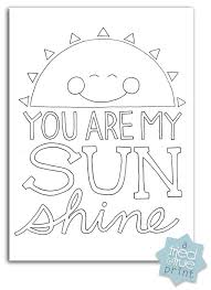 birthday quotes sunshine printing free