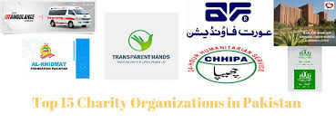 list of top 15 charity organizations in pakistan