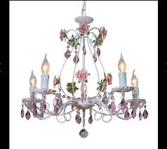 Cheap Pink Chandelier Rose Chandelier Editonline Us