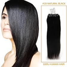 micro rings hair extensions inch 1b black micro loop human hair extensions 100s 100g