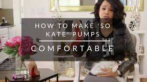 Are Christian Louboutins Comfortable How To Make Christian Louboutin U0027so Kate U0027 Shoes Comfortable Youtube