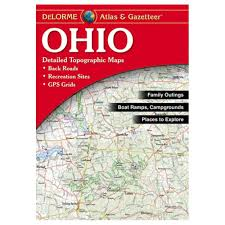 Topographic Map Of Ohio by New Delorme Ohio Oh Atlas And Gazetteer Topo Road Map Topographic