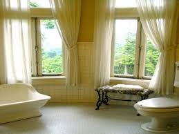 Green Bathroom Window Curtains Bathrooms Window Curtains Designs Interior Design