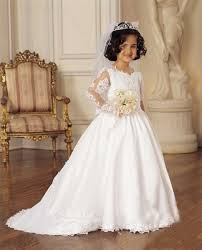 communion gowns communion dress with detachable