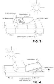 patent us7884569 hybrid vehicle with a low voltage solar panel